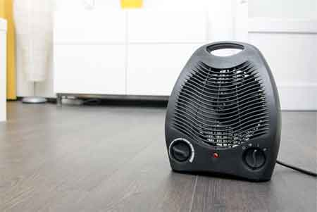 Small heater to warm up your room: